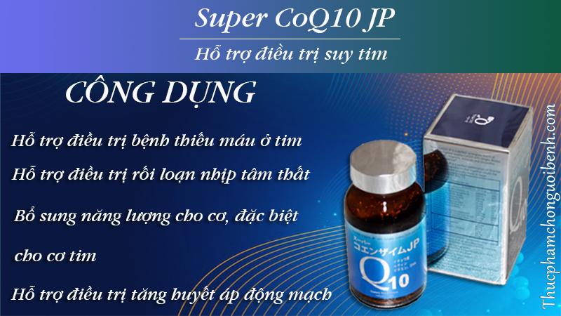công dụng super coq10 jp