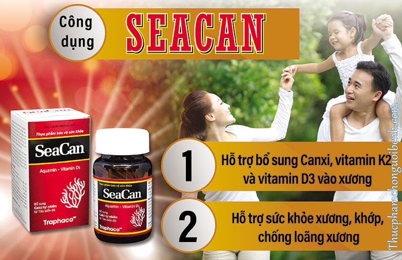 công dụng seacan