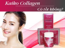kaiko collagen có tốt không