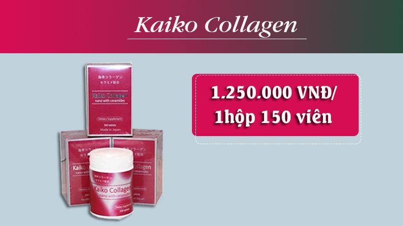 kaiko collagen giá bao nhiêu