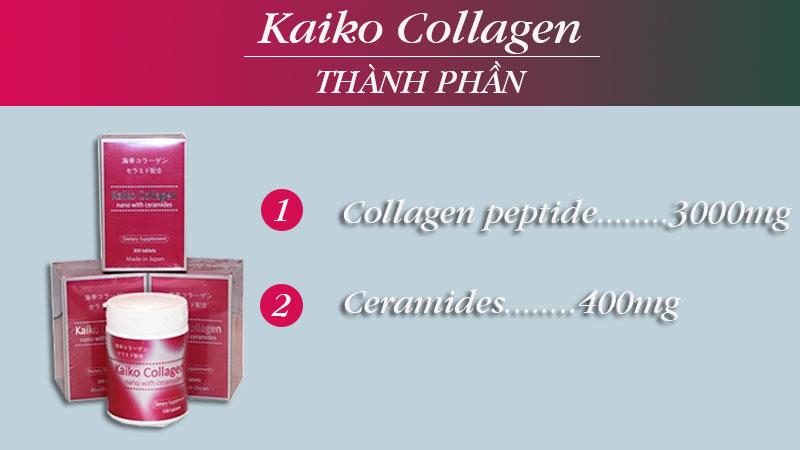 thành phần kaiko collagen
