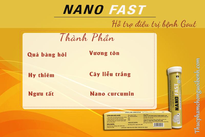 thành phần nano fast