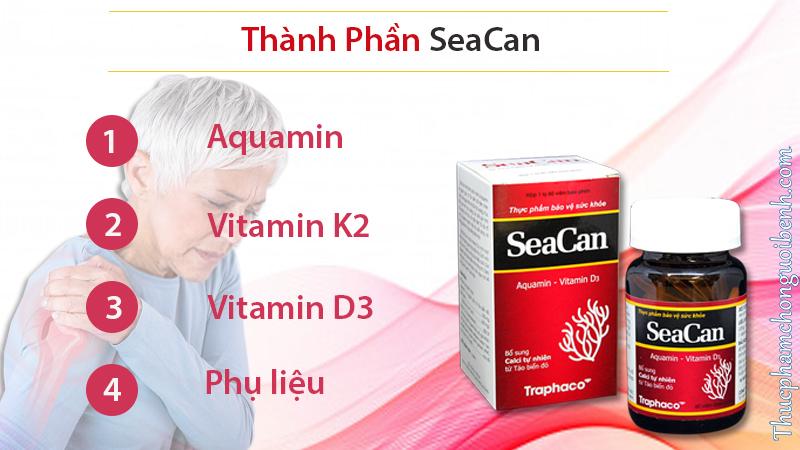 thành phần seacan
