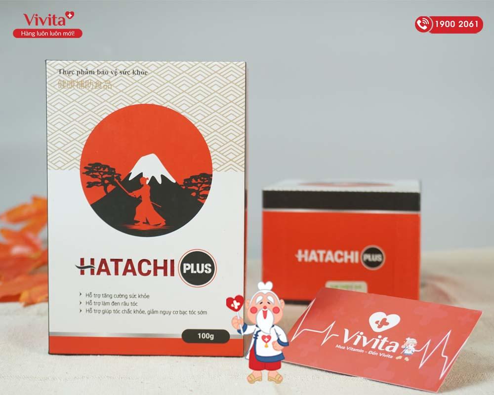 hatachi plus được bán chính hãng bởi vivita