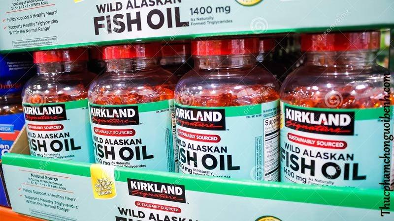vien dau ca kirkland fish oil wild alaskan 3