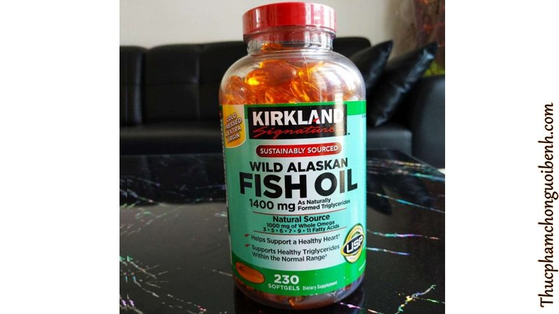 vien dau ca kirkland fish oil wild alaskan 6