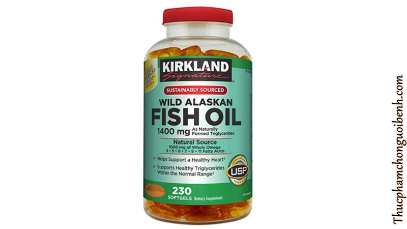vien dau ca kirkland fish oil wild alaskan 9
