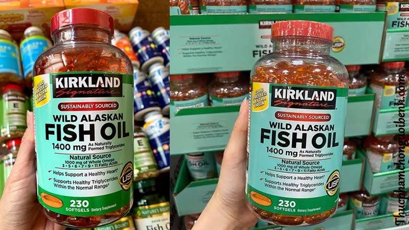 vien uong dau ca tot cho tim mach kirkland fish oil wild alaskan 2